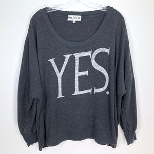Wildfox YES. Jumper